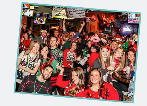 Ugly Sweater Bar Crawls Event