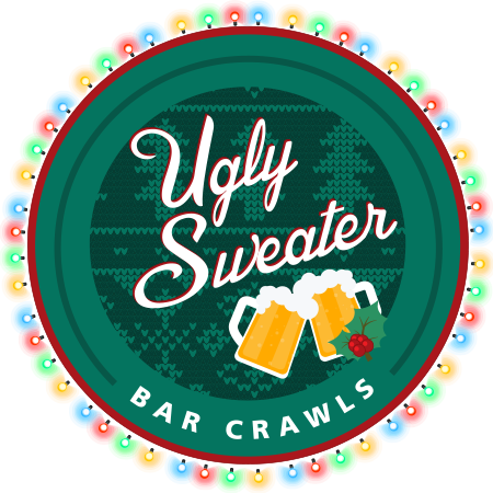 Ugly Sweater Bar Crawls logo