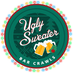 Ugly Sweater Bar Crawl logo